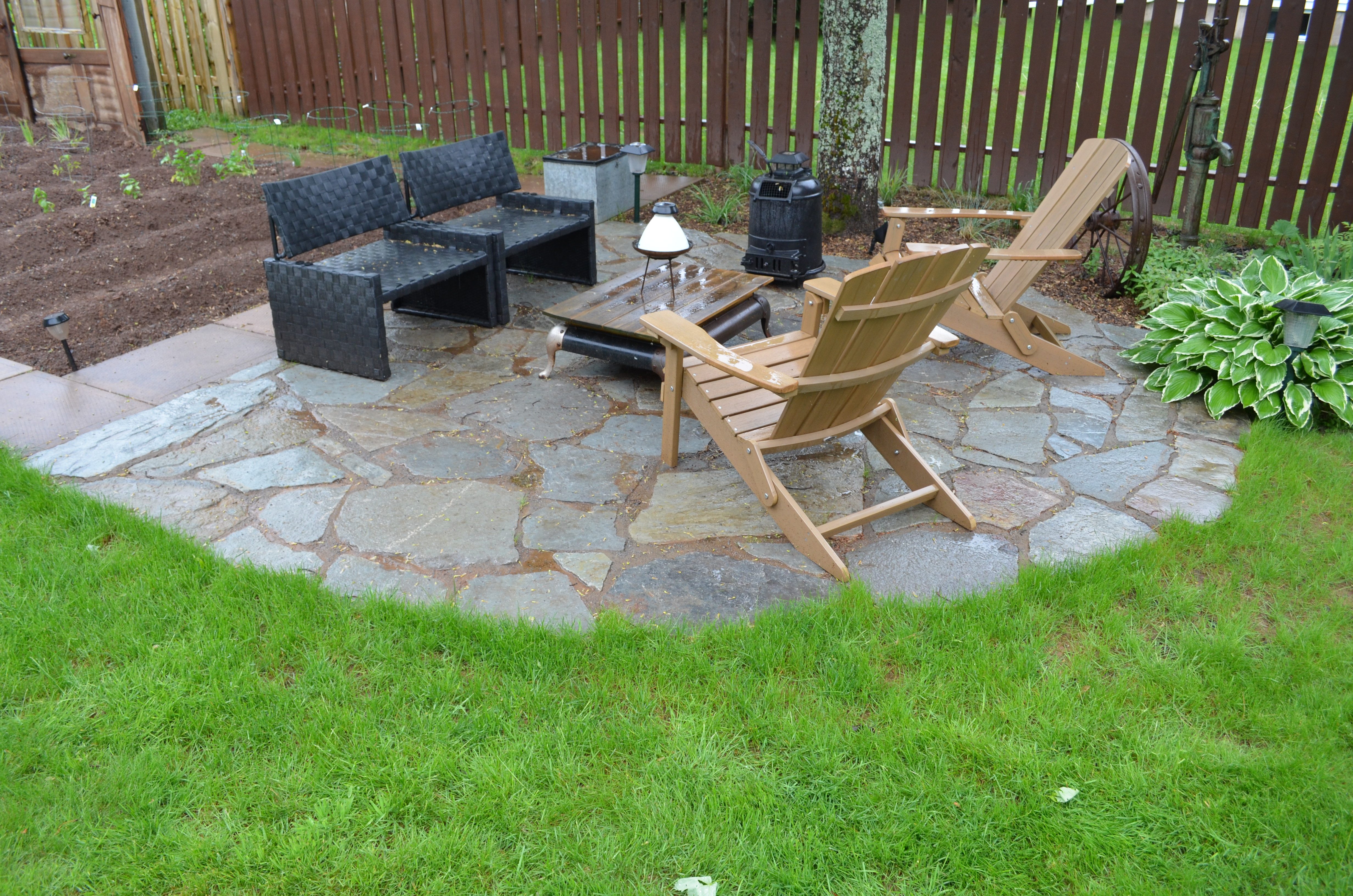 Stone Patio & Driveways